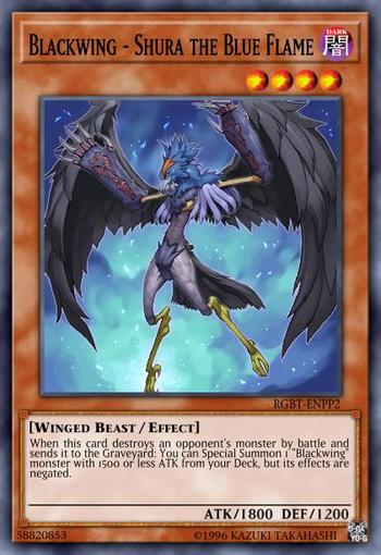 Blackwing - Shura the Blue Flame