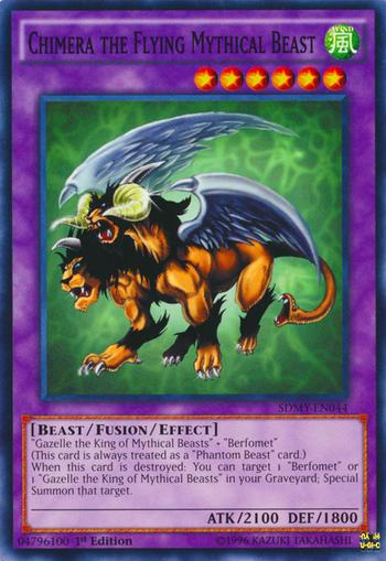 Chimera the Flying Mythical Beast