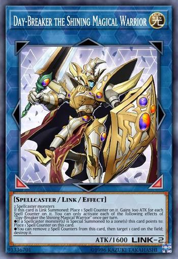 Day-Breaker the Shining Magical Warrior