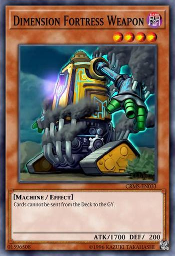 Dimension Fortress Weapon