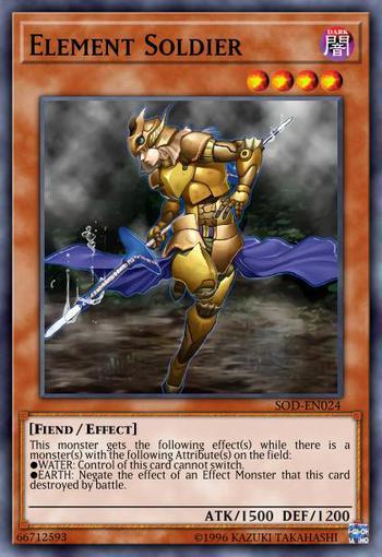 Element Soldier