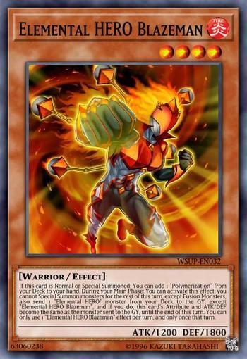 Elemental HERO Blazeman