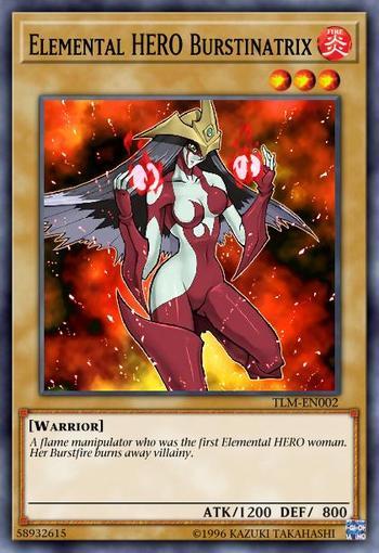 Elemental HERO Burstinatrix