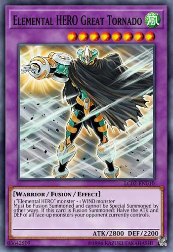 Elemental HERO Great Tornado