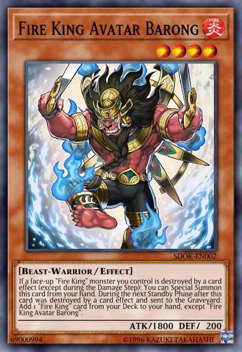 Fire King Avatar Barong