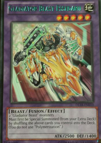 Gladiator Beast Essedarii