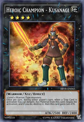 Heroic Champion - Kusanagi