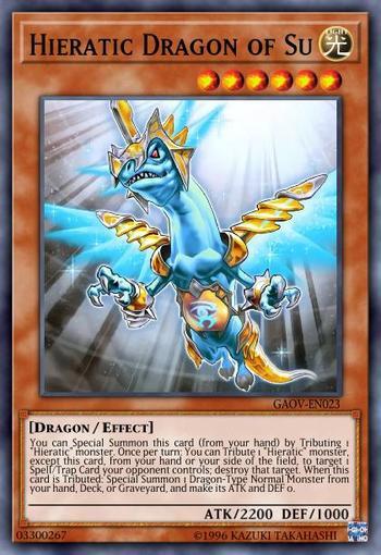 Hieratic Dragon of Su