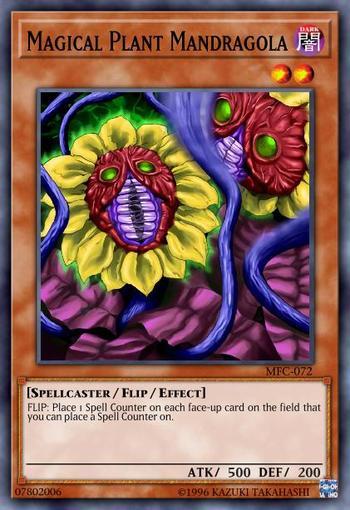 Magical Plant Mandragola