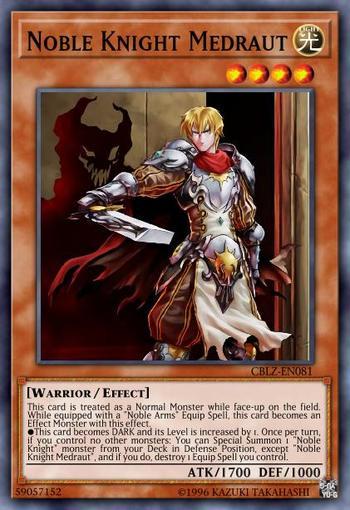 Noble Knight Medraut