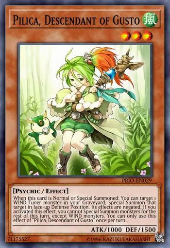 Pilica, Descendant of Gusto