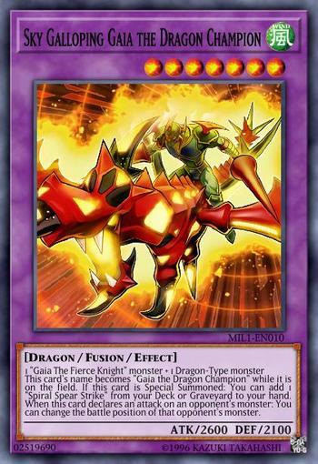 Sky Galloping Gaia the Dragon Champion