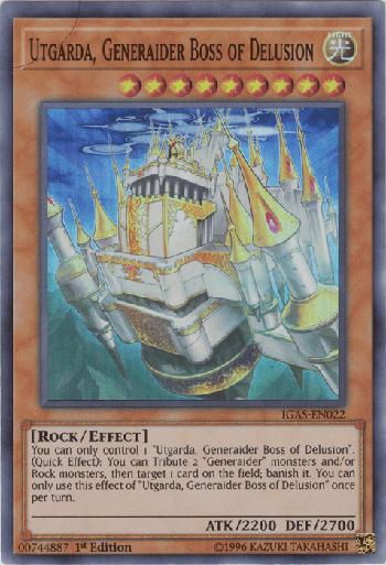 Utgarda, Generaider Boss of Delusion