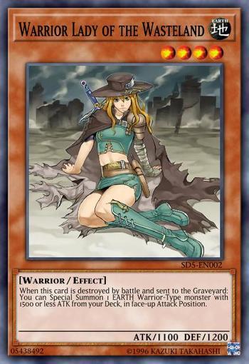 Warrior Lady of the Wasteland