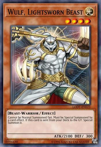 Wulf, Lightsworn Beast