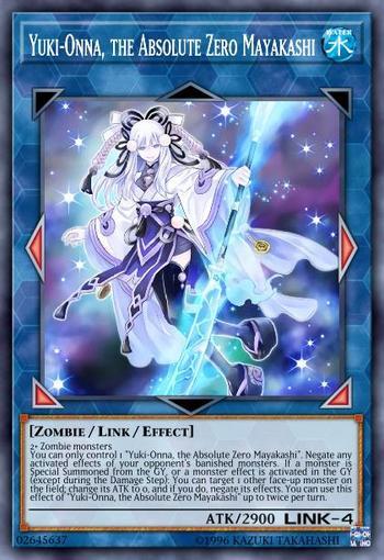 Yuki-Onna, the Absolute Zero Mayakashi