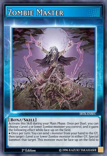 Zombie Master (Skill Card)