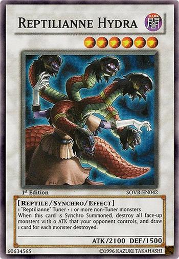 Reptilianne Hydra