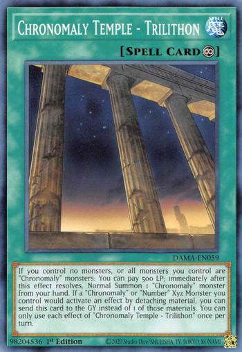 Chronomaly Temple - Trilithon