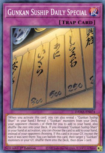 Gunkan Suship Daily Special