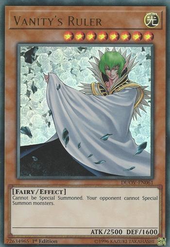Vanity's Ruler